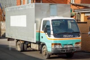 Isuzu Elf. Продается грузовой фургон Isuzu ELF, 4 334 куб. см., 3 000 кг.