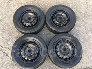 Продам колёса с зимними шинами. x14 5x114.30