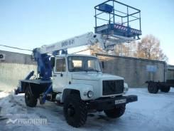 ГАЗ-33081. Автогидроподъемник ВИПО-18-01 на шасси (4х4) (5м. каб), 4 750куб. см., 18м.