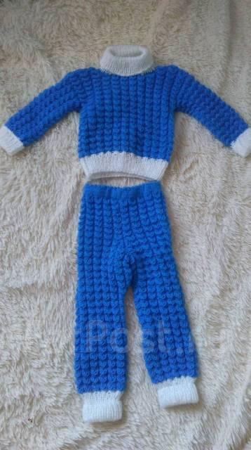 продается вязаный детский костюм детская одежда во владивостоке