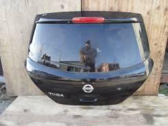 Дверь багажника. Nissan Tiida, C11X, C11