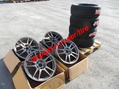 Шины на дисках Kosei Direzza RSC Bridgestone Blizzak VRX 215/45 R 17. 7.0x17 5x100.00 ET48