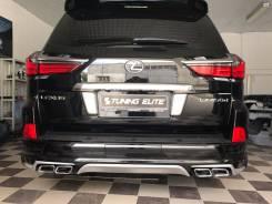 Обвес кузова аэродинамический. Lexus LX570, URJ201W, URJ201