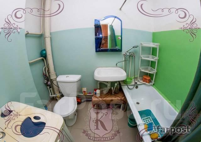 1-комнатная, улица Адмирала Горшкова 22. Снеговая падь, 42кв.м. Сан. узел