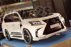 Обвес кузова аэродинамический. Lexus LX570, URJ201 Двигатель 3URFE. Под заказ