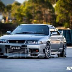 Дефлектор капота. Nissan Skyline, BCNR33, BNR32, ECR32, ECR33, ENR33, ER32, ER33, FR32, HCR32, HNR32, HR32, HR33, YHR32 Nissan Silvia, S15 Nissan GT-R...