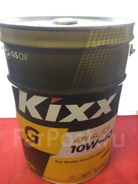 Kixx. Вязкость 10W-40, полусинтетическое
