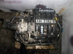 Двигатель в сборе. Chevrolet Spark B10D1