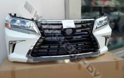 Обвес кузова аэродинамический. Toyota Land Cruiser, URJ202, URJ200, URJ202W, GRJ200, UZJ200, UZJ200W, VDJ200, J200 Двигатели: 1GRFE, 1URFE, 3URFE, 1VD...
