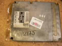 Блок управления двс. Toyota Corolla Spacio, AE111 Двигатель 4AFE
