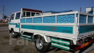 Toyota Dyna. Длинномерный грузовик Toyota DYNA гр. п. 3 тонны, двухкабинник Дизель., 4 100 куб. см., 3 000 кг.