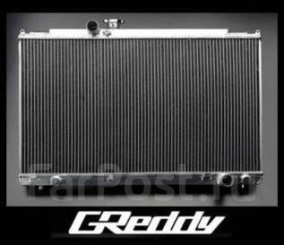 Радиатор охлаждения двигателя. Toyota Mark II, JZX100 Toyota Cresta, JZX100 Toyota Chaser, JZX100