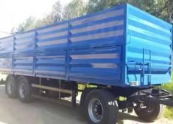 Нефаз 8332. -0145130-04 (бортовой зерновоз с тентом), 15 000 кг.
