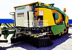 Ceksan. Механическая прицепная подметально-уборочная машина Hamarat
