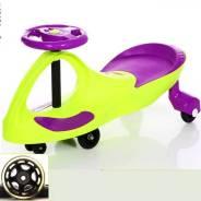 Детская машинка бибикар с круглым рулем. Под заказ