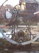 Самодельная модель. Год: 2006 год, длина 5,00м., двигатель стационарный, 9,00л.с., дизель