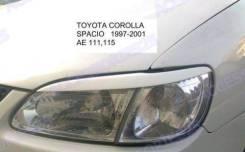 Накладка на фару. Toyota Corolla Spacio, AE115N, AE111N. Под заказ