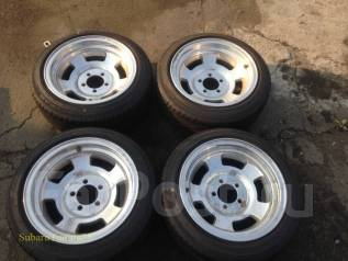 Колеса Mickey Thompson R15 5x114.3 + Goodyear Eagle 195/50 Лето. 8.0x15 5x114.30 ET-28 ЦО 110,0 мм.