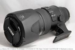 Продам объектив nikon 70-200mm f/2.8G. Для Nikon, диаметр фильтра 77 мм