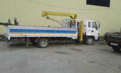 "Isuzu Forward. Грузовик ""Исудзу Форвард"", 6 000 куб. см., 5 000 кг."