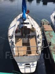 Яхта крейсерская парусно-моторная. Длина 9,12м., Год: 1987 год