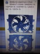 Вентилятор охлаждения радиатора. Renault Kaptur Двигатели: F4R, H4M