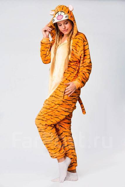 Пижама Кигуруми Тигр - Одежда для дома и сна во Владивостоке 30db3ed99df1c