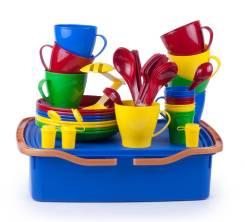 Набор посуды Весёлая компания-3 8 персон