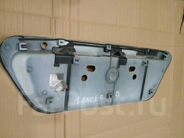 Накладка багажника. Mitsubishi Lancer