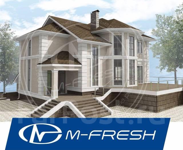M-fresh Level Up Plus! (Проект большого загородного коттеджа! ). 400-500 кв. м., 2 этажа, 6 комнат, бетон