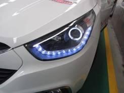 Фара. Hyundai Tucson, TL, LM Hyundai ix35 Двигатели: G4FD, D4HA, G4NA, G4FJ, G4KD, G4KE. Под заказ