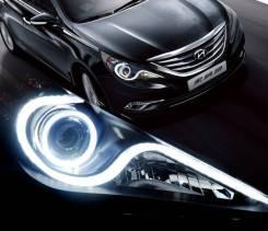 Фара. Hyundai Sonata, YF Двигатели: G4KC, G4KA. Под заказ