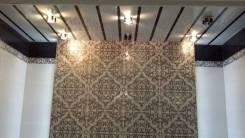 Пол и стены укладка плитки. Потолки подвесные установлю.