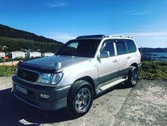 Фара. Toyota Land Cruiser, HDJ101, UZJ100