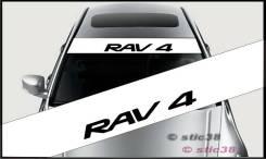 Наклейка. Toyota RAV4
