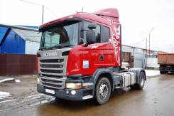 Scania G400. Седельный тягач LA4X2HNA. Год выпуска 2014, 12 740 куб. см., 18 000 кг.
