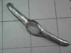 Молдинг решетки радиатора, передний верхний, Toyota Highlander, GSU50L, хром, б/у.
