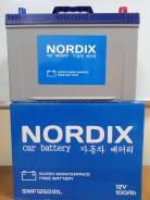 Nordix. 100А.ч., Обратная (левое), производство Корея. Под заказ