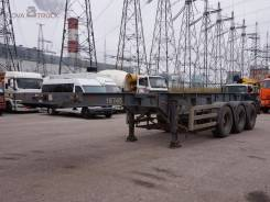 Montracon. Полуприцеп контейнеровоз , 35 100 кг.