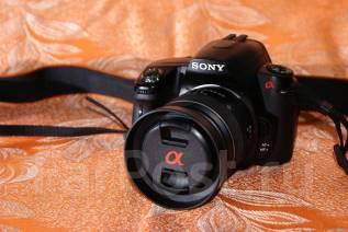 Sony Alpha DSLR-A390 Kit. 15 - 19.9 Мп, зум: 3х
