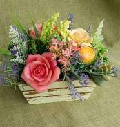 """Букет цветов из мыла """"Прованс"""". Под заказ"""