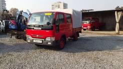Nissan Atlas. Бывшая пожарка, 2 700 куб. см., 1 500 кг.