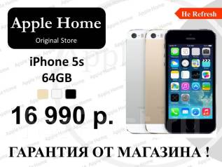 Apple iPhone 5s. Новый, 64 Гб, 4G LTE