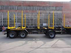 НовосибАРЗ. Новый 3-х осный прицеп-сортиментовоз 84343А (оси BPW), 30 000 кг. Под заказ