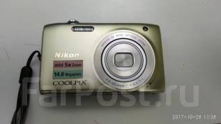 Nikon Coolpix S3100. 10 - 14.9 Мп, зум: 5х