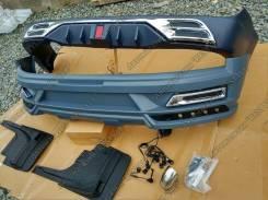 Обвес кузова аэродинамический. Toyota Land Cruiser, URJ202, UZJ200, GRJ200, UZJ200W, URJ200, VDJ200, URJ202W, J200