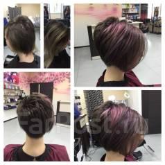 Стрижки и окрашивание волос в студии красоты Cherry, Кирова 9А