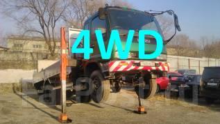 Isuzu Forward. 4WD мостовой рессорный с крановой, 8 200 куб. см., 6 000 кг.