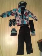 Шапка, шарф и перчатки. Рост: 134-140 см