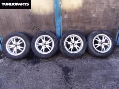 Литье Toyota Prius ZVW30 + Резина Bridgestone ''15 [Turboparts]. 6.0x15 5x100.00 ET45